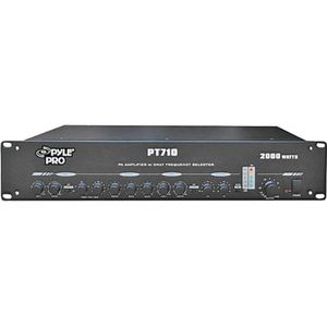 New-19'' Rack Mount 2000-Watt PA Amplifier with 3-Way Frequency Selectors - DQ2233