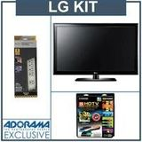 LG 55LK530 55 inch 1080p LCD HDTV, with Accessory Kit (2 HDMI Cables, 1 RGB Cable, 1 Audio Cable, Plasma / LCD Cleaning Kit, Belkin 6-Outlet Surge Protector)