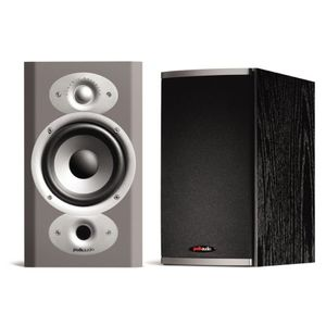 Polk Audio RTi4 High Performance Bookshelf/On-Wall Speakers (Pair, Black)
