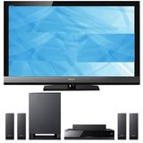 "Sony KDL-52EX700 52"" LED Backlit HDTV & BDV-E570 3D Blu-ray Home Theater System"