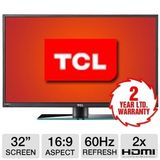 TCL LE32HDE5300 32-Inch 720p LED HDTV with Two Year Limited Warranty - Black