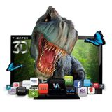 VIZIO 42 Inch Class Theater 3D LCD HDTV with VIZIO Internet Apps, E3D420VX