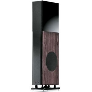 Polk Audio LSi25 Right Speaker Ebony (Ea) 3-Way Floorstanding Loudspeaker with Powered Subwoofer