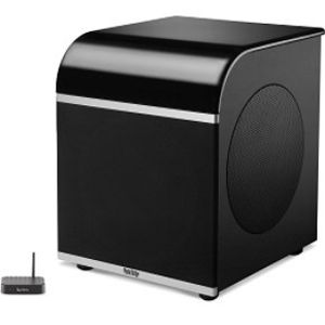 "Infinity Classia PSW310BK 10"" Powered Subwoofer with Dual 10"" Passive Radiators (Single, High Gloss Black)"