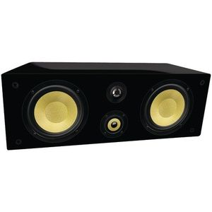 "NEW BIC VENTURI VK-6LCR 6.5"" 3-WAY KEVLAR BLACK LACQUER ON-WALL LCR SPEAKER (VK-6LCR)"