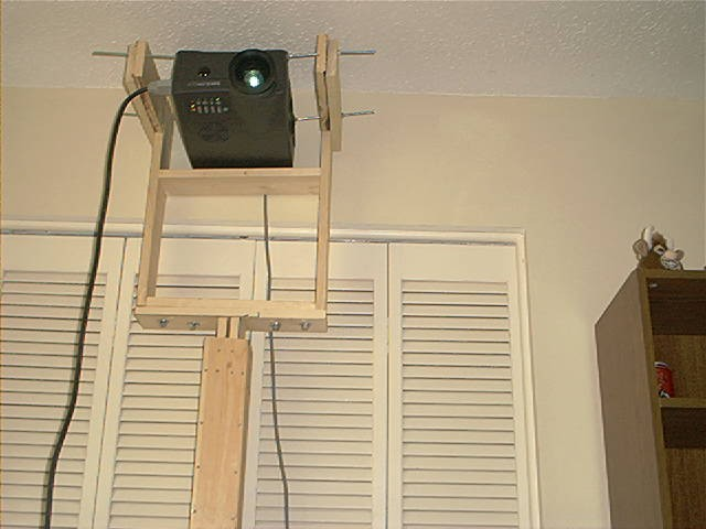 My Diy Freestanding Projector Mount Avs Forum Home