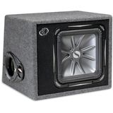 Kicker 06VS12L72 Ported enclosure with one 12&quot; L7 Solo-Baric subwoofer