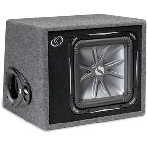 "Kicker 06VS12L72 Ported enclosure with one 12"" L7 Solo-Baric subwoofer"