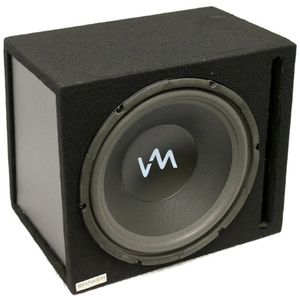 "New VM Audio VAS112PB 12"" 1000W Subwoofer Sub Enclosure"