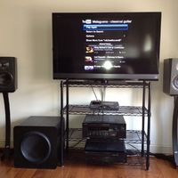 Recently acquired SVS Ultra Bookshelf Speakers w/ the SVS SB13 Ultra Sub.