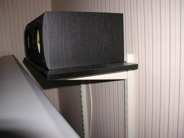 B Amp W Lcr600 Center Speaker Wall Mount Solution Avs Forum