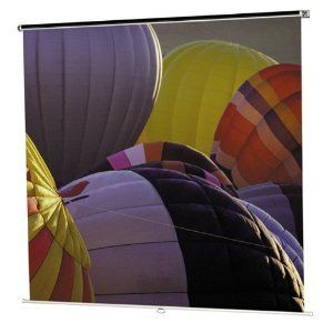 Dalite Class-mate Square Format 70 X 70 Inch Matte White Projection Screen