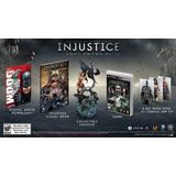 Injustice: Gods Among Us Collector's Edition Playstation3 Game Warner Bros. Studios