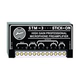 RDL STM-3 Mic Preamplifier Flexible, Low Noise, High Gain, Two Balanced or Unbalanced Outputs - Power Supply Included