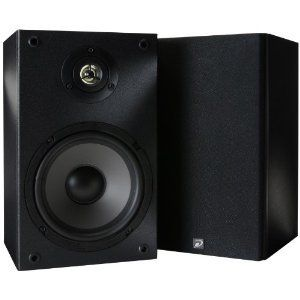 Dayton Audio 6-1/2 inch 2-Way Bookshelf Speaker Pair - B652