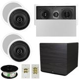 "5.1 Home Audio Speakers 4 Speakers, 1 Center, 15"" Powered Sub and More TS50CL51SET8"