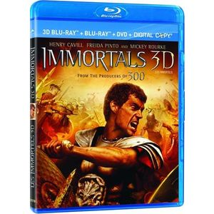 Immortals 3D (3D Blu-ray / 2D Blu-ray / DVD / Digital Copy) (Blu-ray)