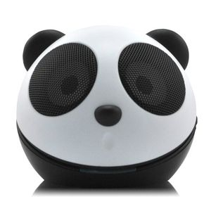 Backhomeday Mini Adorable Kongfu Panda Loudspeaker Portable USB Voice Box