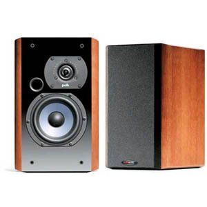 Polk Audio LSi7 Bookshelf Speakers (Pair, Ebony)