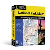 National Geographic Complete National Park Maps