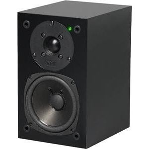 NHT SuperPower 90-Watt Powered Speaker (Gloss Black, Single)