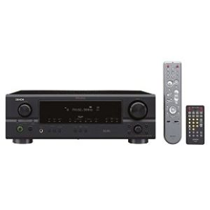 Denon DRA-397 AM/FM Multi Source/Zone Stereo Receiver w/ 80X2 Audiophile Power