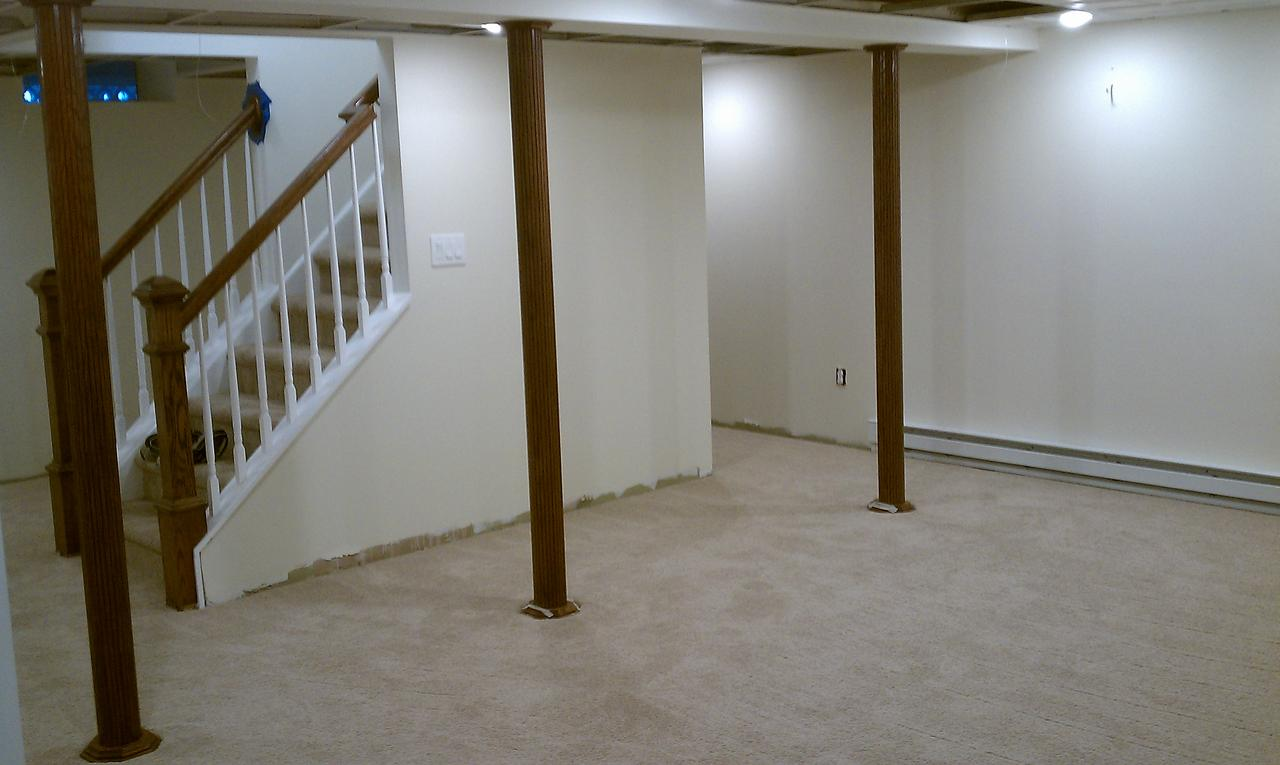 basement pole wrap pictures to pin on pinterest