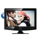 Coby LEDVD1996 19-Inches Widescreen LED HDTV 720p with DVD Player - Black