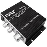 Pyle Pfa200 60w Mini 2 Ch Car Audio Amplifier Amp 2 Channel 60 Watt