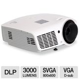 Vivitek D860 3000 Lumen SVGA 3D-Ready Portable DLP Projector