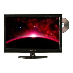 Sceptre E195BD-SHD 18.5-Inches 720p TV Combo - Black
