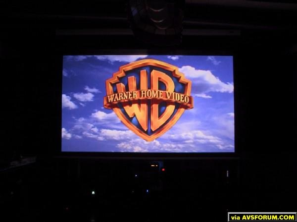 Screen Shot of WB Logo