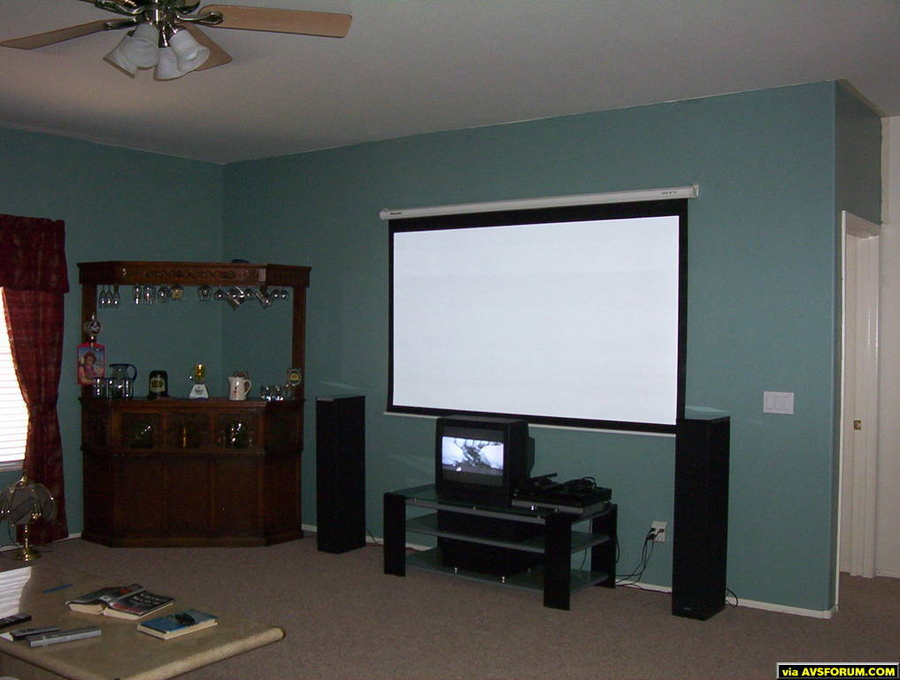 I am in the process of building my home theater, It will have a Optoma HD72 DLP projector, A Dragonfly HC 106 fixed screen to replace the Gray wolf II 90 inch, A Yamaha DSP A1_ amp, and Definitive Technology speakers. I will post some more...
