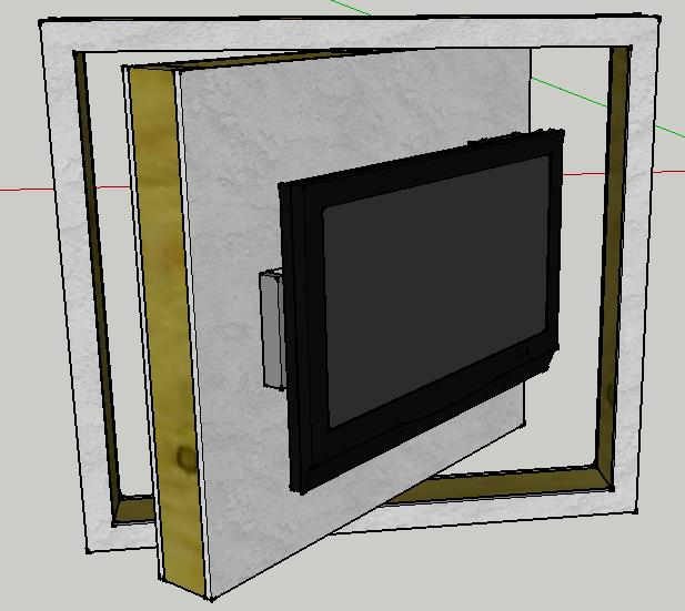 rotating tv wall avs forum home theater discussions