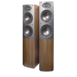 Mordaunt-Short Mezzo 6 Floorstanding Speakers in Dark Walnut(Pair)
