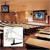 "Signature/Series V Motorized Front Projection Screen - Wall or Ceiling Mounted - Tab-Tensioned - 45 x 80"" - 92"" Diagonal - HDTV Format - 16:9 Aspect Ratio Option: 3 Foot Backdrop"