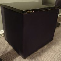 "An oldie but a goodie - Mirage BPS-400 2x12"" bipolar sub."