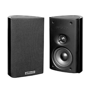 Polk Audio RM7 Satellite Speaker (Single, Black)