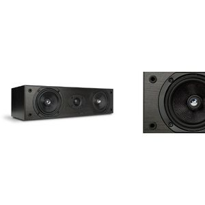 Mordaunt Short Carnival 5 Center Channel Speaker-Black