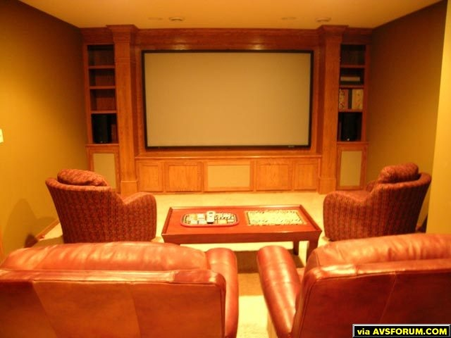 My home theater after construction