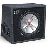 Kicker VCVR124 CompVR 12 Subwoofers In Vented Box