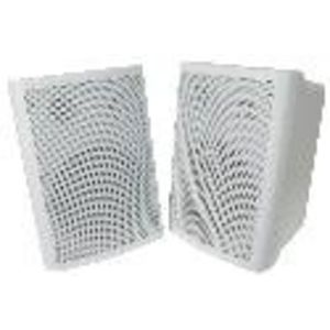 5'' Two-Way White Indoor/Outdoor Speaker Pair