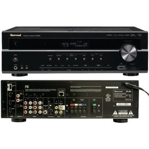 SHERWOOD RD606I 500-WATT NETWORKING 3D-READY A/V RECEIVER (RD606I) -