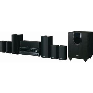 Onkyo HT-S5300 7.1-Channel Home Theater Receiver and Speaker Package with iPod Dock (Black)
