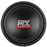 "Brand New MTX Terminator Series TN12-04 12"" 400 Watts Peak / 200 Watts RMS 4 Ohm Car Audio Subwoofer with Rubber Surround"