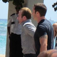 On the set of Hawaii Five-0 7/25/2013