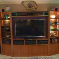 Entertainment Center FH Speaker Options
