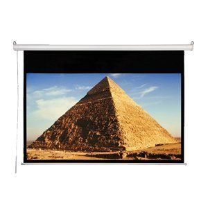 106in Diagonal Accuscreens HDTV Electric Wall Ceiling 52x92in