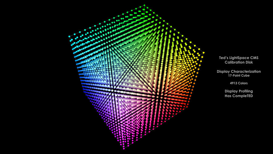 17-Point Cube (4913 Color)
