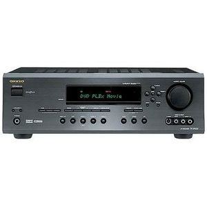 Onkyo TX-SR502 Home theater receiver with Dolby Digital EX, DTS-ES, and Dolby Pro Logic IIx Black